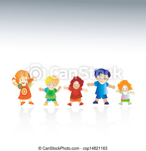 bambini, felice - csp14821163