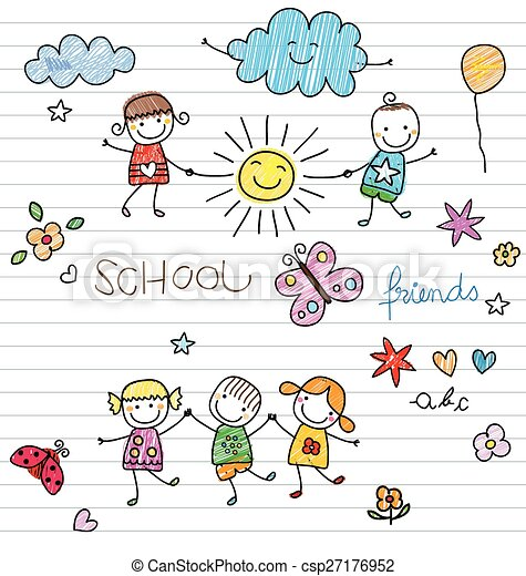 bambini, felice - csp27176952