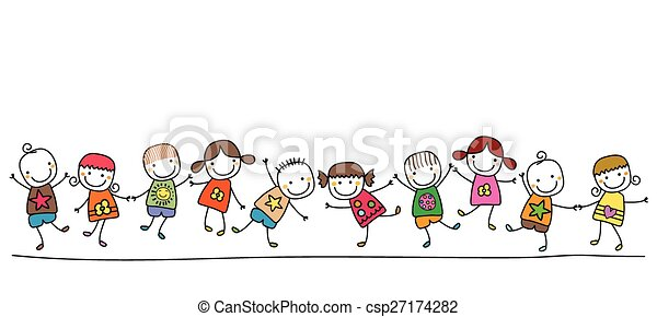 bambini, felice - csp27174282