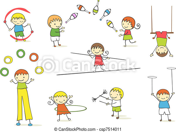 bambini, manipolazione - csp7514011