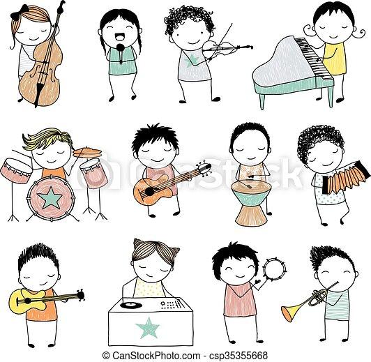 banda, musicale - csp35355668