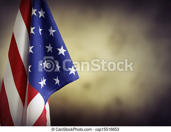 bandiera americana - csp15516653