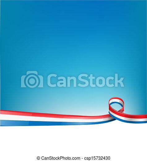bandiera, fondo, francia - csp15732430