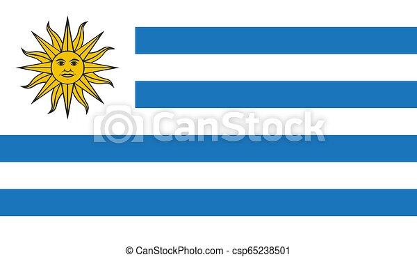 bandiera, uruguay - csp65238501