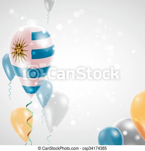bandiera, uruguay - csp34174385