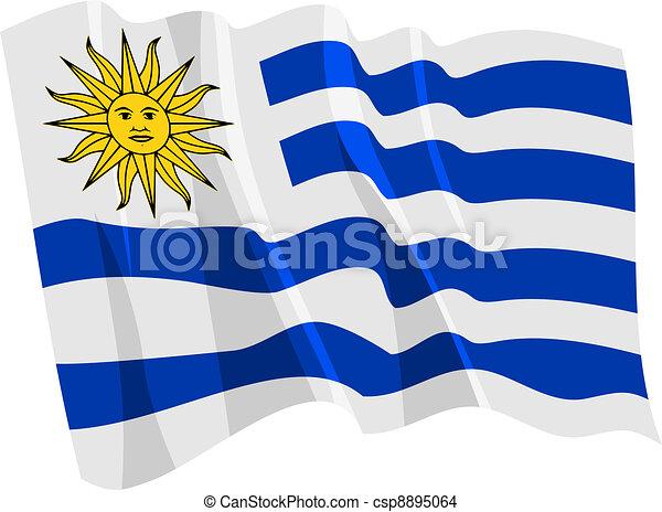 bandiera, uruguay - csp8895064