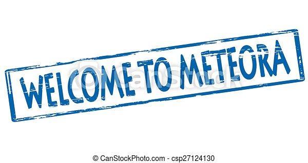 benvenuto, meteora - csp27124130