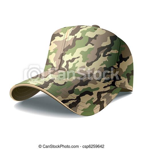 berretto, esercito - csp6259642