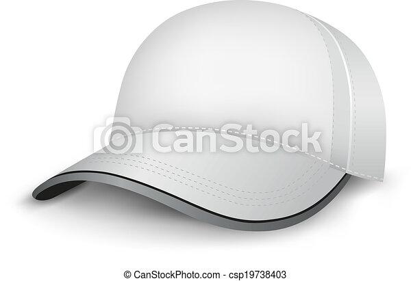 bianco, berretto - csp19738403