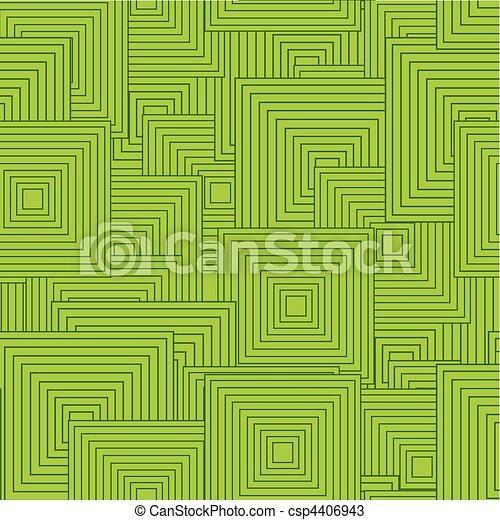 bianco, quadrato, nero, seamless, retro - csp4406943