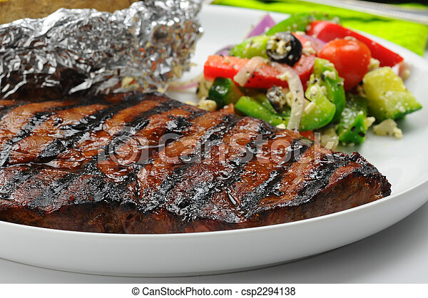 bistecca, succoso - csp2294138