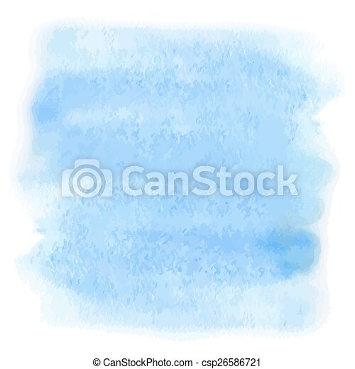 blu, acquarello - csp26586721