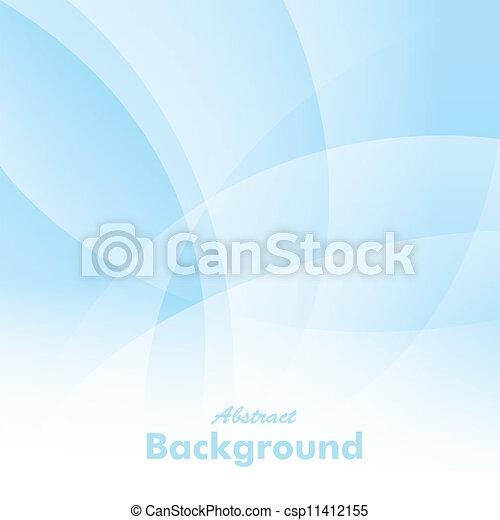 blu, astratto, fondo, vettore - csp11412155