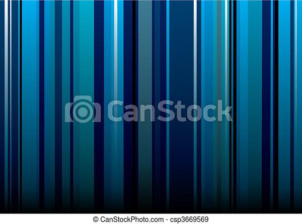 blu, carta da parati, striscia - csp3669569