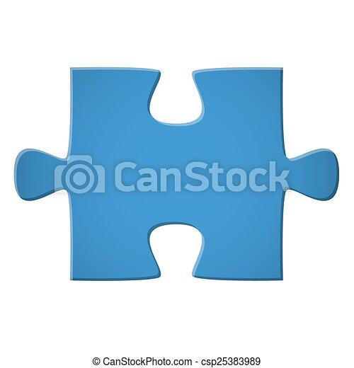 blu, pezzo enigma - csp25383989