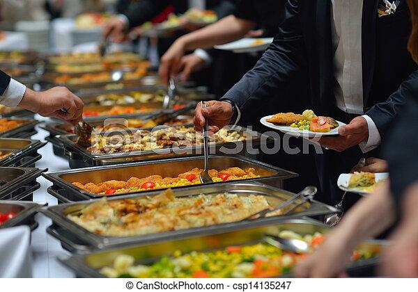 buffet, cibo - csp14135247
