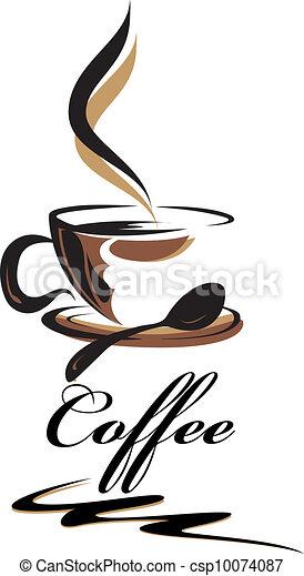 caffè, bellezza, tazza - csp10074087