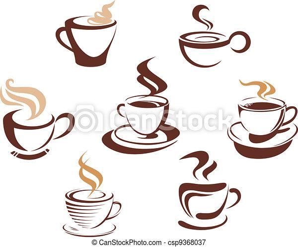 caffè tè, campanelle - csp9368037