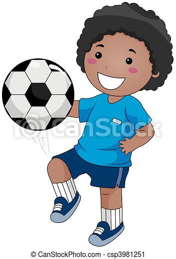 calcio, gioco - csp3981251