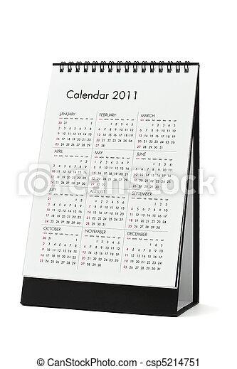 calendario, 2010 - csp5214751