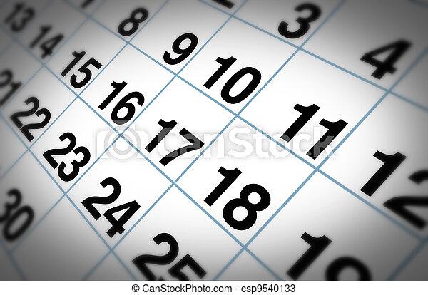 calendario - csp9540133