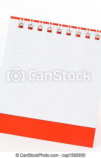 calendario, vuoto - csp1592930