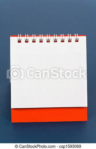 calendario, vuoto - csp1593069