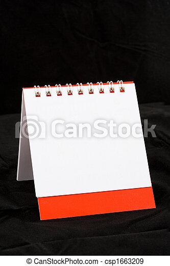 calendario, vuoto - csp1663209