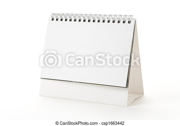 calendario, vuoto - csp1663442