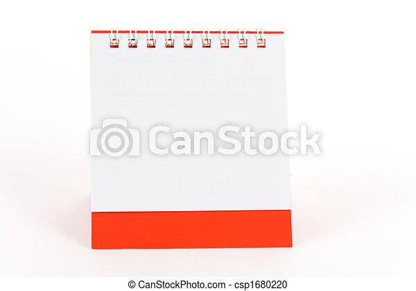 calendario, vuoto - csp1680220