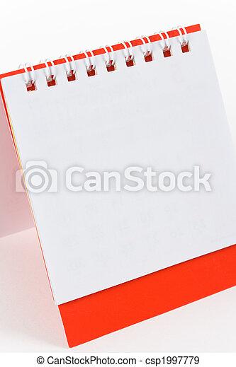 calendario, vuoto - csp1997779