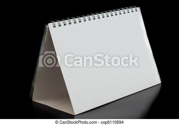 calendario, vuoto - csp6110694