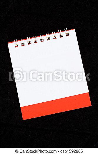 calendario, vuoto - csp1592985