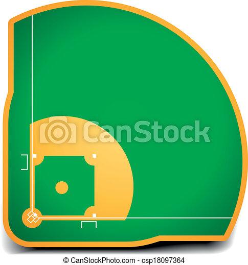 campo, baseball - csp18097364