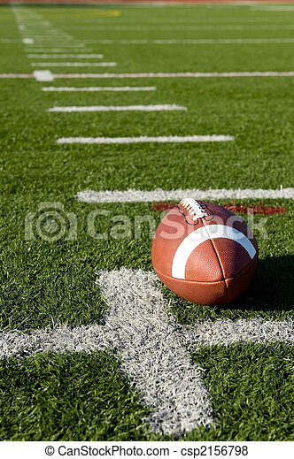campo, football americano - csp2156798