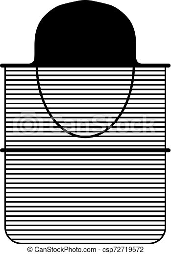 cappello, rete zanzara - csp72719572