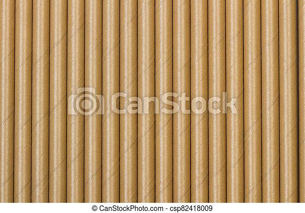 carta, lato, paglie, struttura - csp82418009