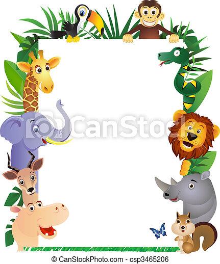 cartone animato, animale - csp3465206