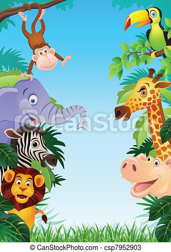 cartone animato, animale - csp7952903