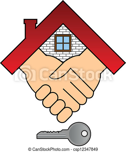 casa, concetto, -, acquisto - csp12347849
