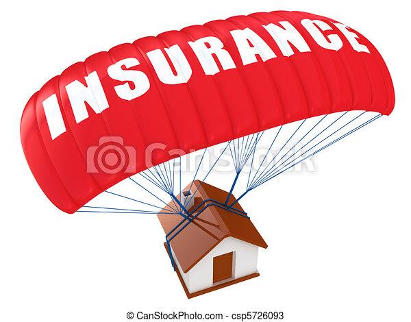 casa, concetto, assicurazione - csp5726093