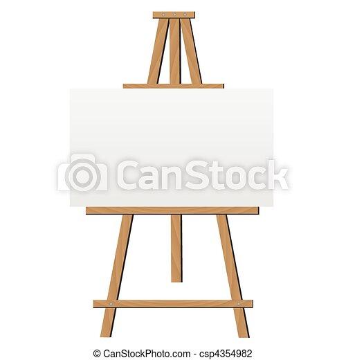 cavalletto, illustrazione - csp4354982