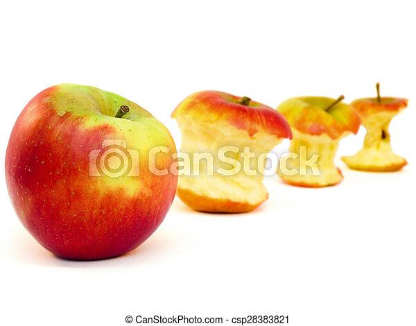 centri, fila, mela, mele - csp28383821