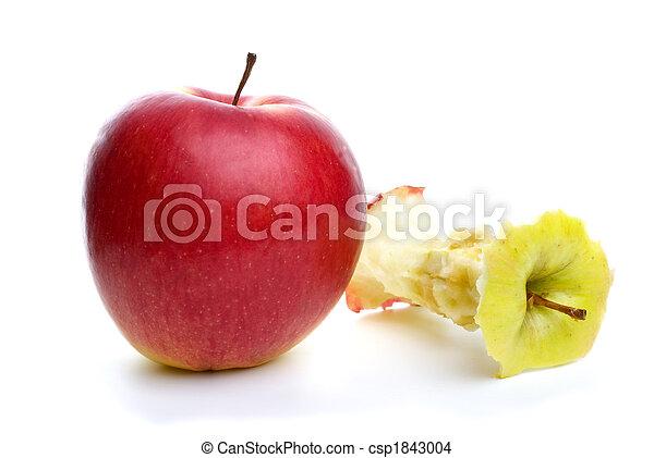 centro, mela intera - csp1843004