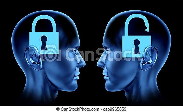 cervello, sbloccando - csp9965853