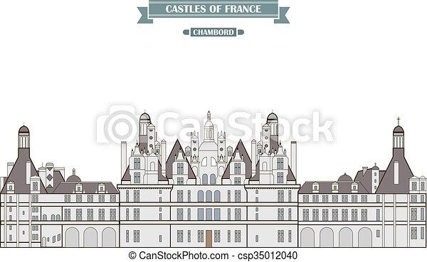 chambord, francia - csp35012040