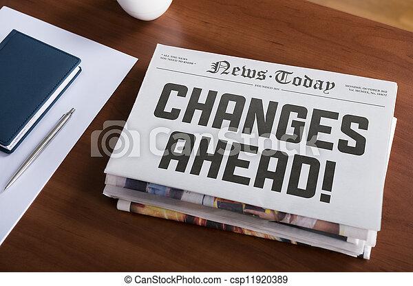 changes, avanti - csp11920389