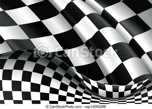 checkered, vettore, fondo - csp14055388