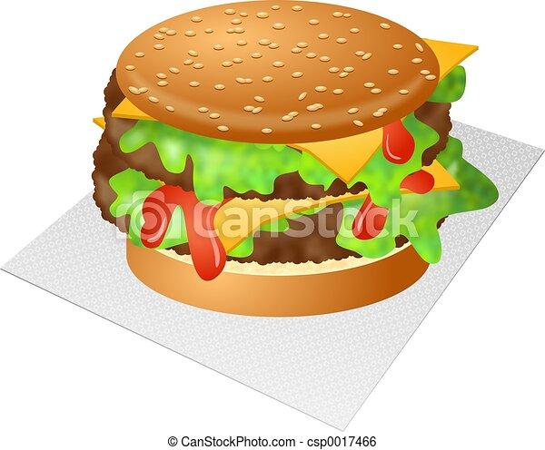 cheeseburger - csp0017466