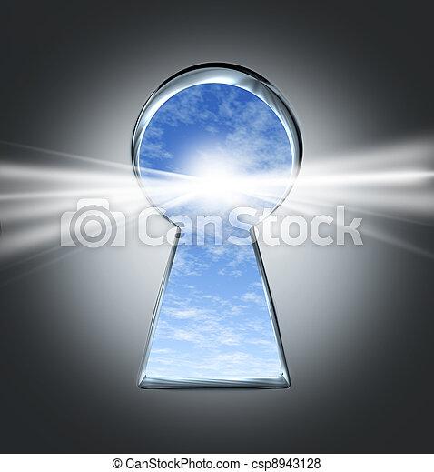 chiave, successo - csp8943128